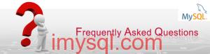 MySQL FAQ